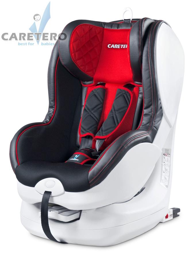 Sedačka CARETERO Defender Isofix red 2014